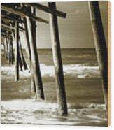 The Pier 2 Wood Print