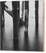 The Pier 3 Wood Print