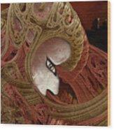 The Pilgrim Wood Print