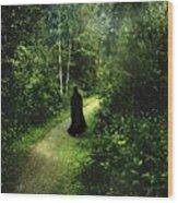 The Pilgrimage Wood Print