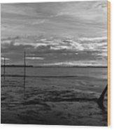 The Pilgrims Refuge Wood Print by Max Blinkhorn