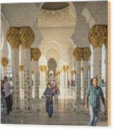 The Pillars Wood Print