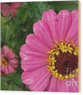 The Pink Art Wood Print
