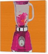 The Pink Blender Wood Print