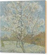 The Pink Peach Tree Arles, April - May 1888 Vincent Van Gogh 1853  1890 Wood Print