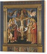 The Pistoia Santa Trinita Altarpiece Wood Print