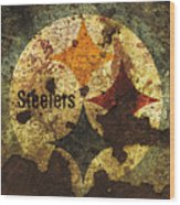 The Pittsburgh Steelers R1 Wood Print