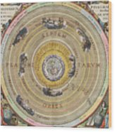 The Planisphere Of Ptolemy, Harmonia Wood Print by Science Source