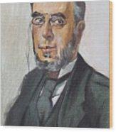 The Poet Demetrius Vikelas Wood Print