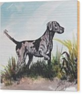 The Pointer Wood Print