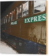 The Polar Express Wood Print