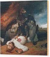The Polish Prometheus Horace Vernet Wood Print