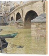 The Pont Marie. Paris Wood Print