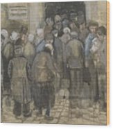 The Poor And Money The Hague, September - October 1882 Vincent Van Gogh 1853  1890 Wood Print