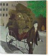 The Poor Man's Burden Wood Print