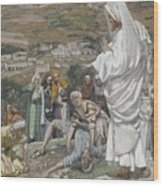 The Possessed Boy At The Foot Of Mount Tabor Wood Print