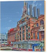 The Power Plant In The Baltimore Inner Harbor Wood Print