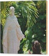 The Praying Princess Wood Print