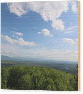 The Presidential Range From Mount Prospect Wood Print