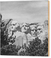 The Presidents Four Wood Print