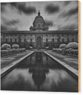 The President's Palace Wood Print