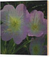 The Primroses Wood Print