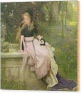 The Princess And The Frog Wood Print