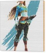 The Princess Of Hyrule Wood Print