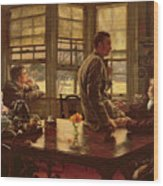 The Prodigal Son In Modern Life  The Departure Wood Print