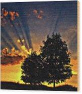 The Promise Impasto Paint Wood Print