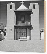 The Pueblo Church Wood Print