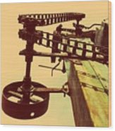 The Pulley Wagon Wood Print