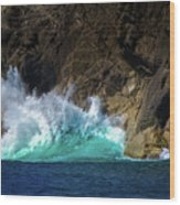 The Pulse Of Cabo San Lucas Wood Print