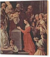 The Purification Of The Virgin 1640 Wood Print