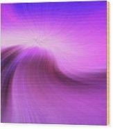 The Purple Wave 0610 Wood Print