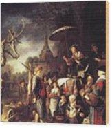 The Quack 1652 Wood Print