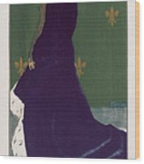 The Quartier Latin Wood Print