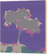 The Quilted Rain Tree At Ramona Wood Print