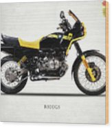 The R100gs 1991 Wood Print