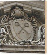 The Racquet Club Of Philadelphia 215 S 16th St Philadelphia Pennsylvania 19102 Wood Print by Duncan Pearson