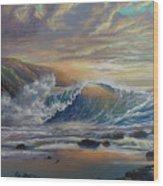 The Radiant Sea Wood Print