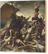 The Raft Of The Medusa Wood Print