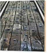The Rails Wood Print