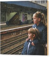 The Railway Children Wood Print