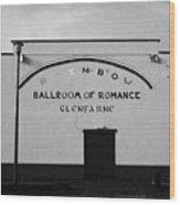 the rainbow ballroom of romance in Glenfarne county leitrim republic of ireland Wood Print by Joe Fox