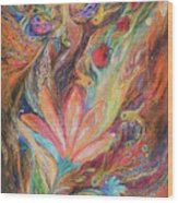 The Rainbow's Daughter Wood Print