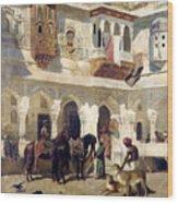 The Rajah Starting On A Hunt Wood Print