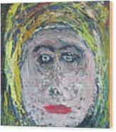 The Rajah's Grand-daughter Wood Print