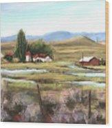 The Ranch Wood Print