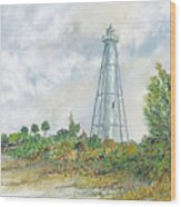The Range Lighthouse Wood Print